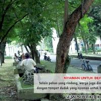 Villa Park Monumen 45, dari Pasar Klithikan jadi Taman Kota