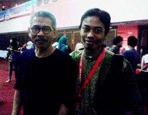 Saya dan Pak Budiono Sudarsono, pendiri detik.com