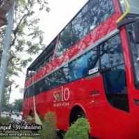 Keliling kota Solo dengan Bus Tumpuk Wisata Werkudara