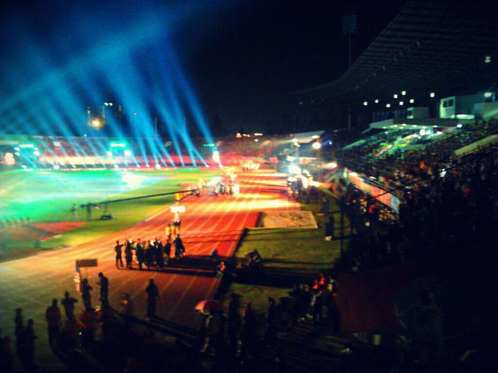 Opening Asean Para Games 2011 Meriah oleh Dimas Suyatno - Kompasiana.com