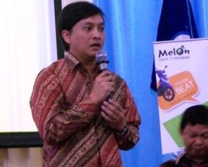 Yovie Widiyanto, hanya menyampaikan materi 5 menit karena padatnya jadwal beliau