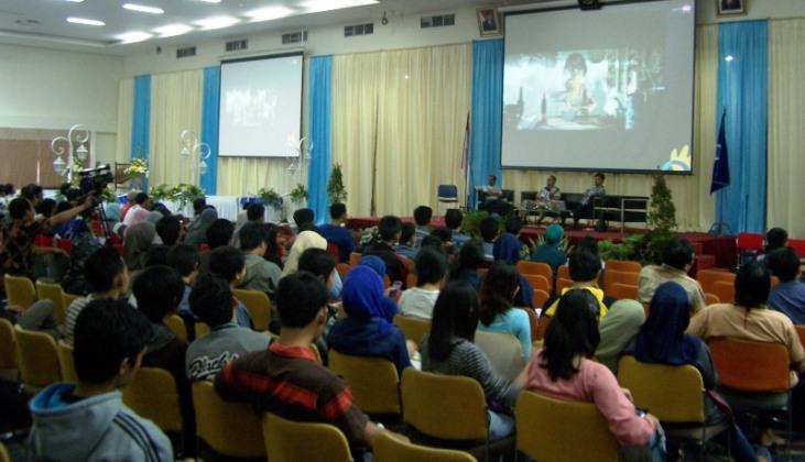 Film karya anak Solo, Lakon Animasi diputar di area Festival TIK 2012 ikut bangga