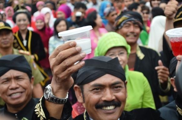 Walikota Solo, Bp Rudy turut hadir & membuka di Festival Jenang Solo