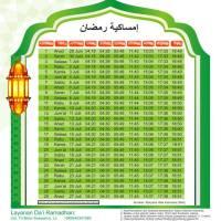 Jadwal Imsakiyah Ramadhan 1435 H / 2014 M untuk kota Solo