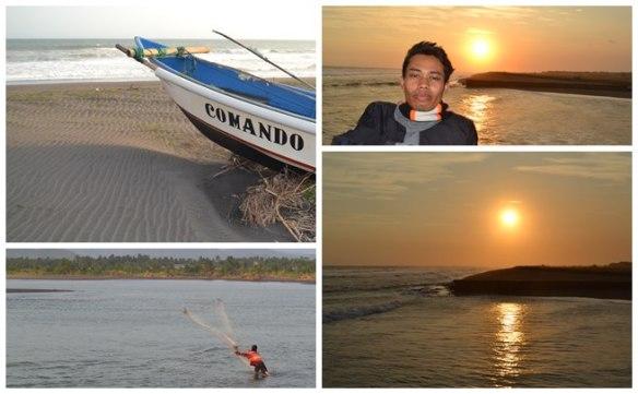 Suasana pantai Congot di Kulonprogo