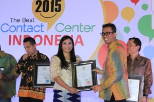 Penyerahan Penghargaan The Best Contact Center Indonesia 2015 di Balai Kartini, 4 Juni 2015. Dalam ajang Anugerah The Best Contact Center Indonesia 2015 ini AHM meraih 6 penghargaan.